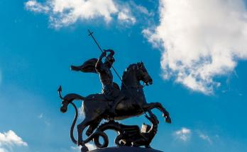 Saint George dragon